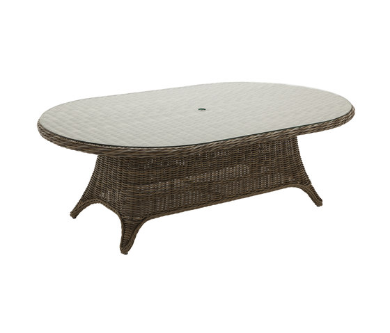 Havana 54in x 86.5 10-Seater Table by Gloster Furniture GmbH   Dining tables