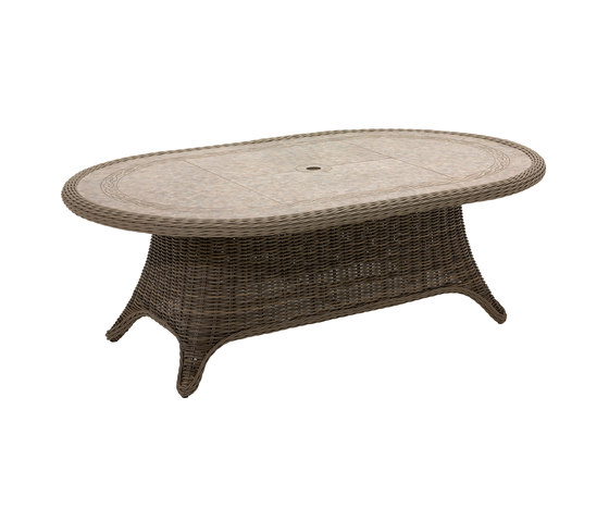 Havana 54in x 86.5 10-Seater Table by Gloster Furniture GmbH | Dining tables
