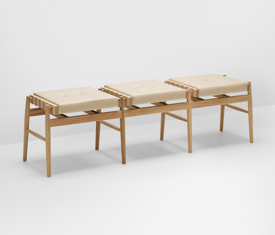 Norse bench by H Furniture | Waiting area benches