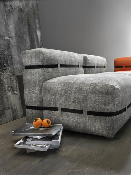 Pouffy sofa by My home collection | Sofas