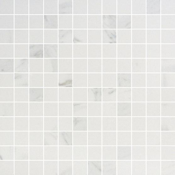 Mosaico 144 Bianco Statuario JW 01 von Mirage | Keramik Fliesen