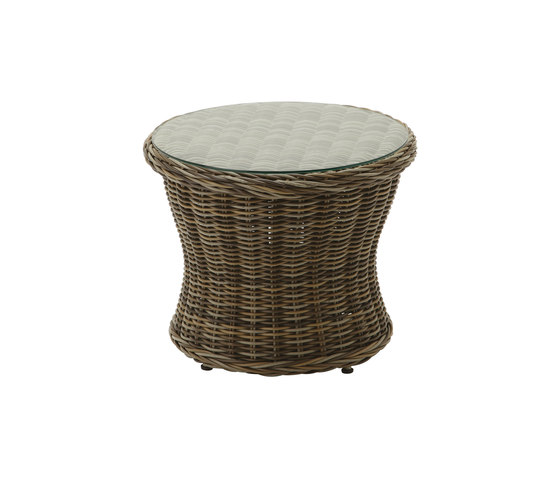 Havana Round Side Table by Gloster Furniture | Side tables