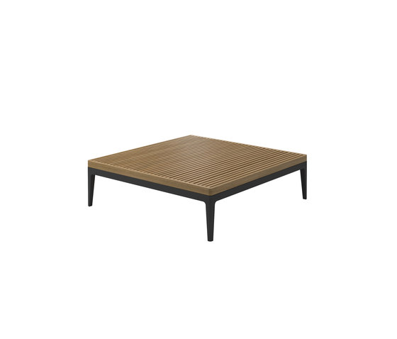Grid Square Coffe Table de Gloster Furniture | Tables basses de jardin
