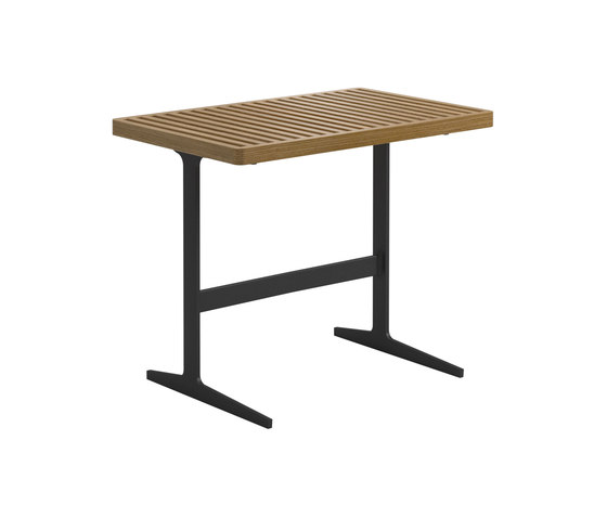 Grid Side Table de Gloster Furniture GmbH | Mesas auxiliares
