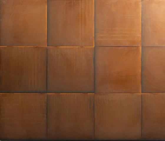 Floor de De Castelli | Baldosas metálicas
