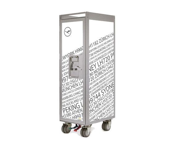 bordbar silver edition lufthansa nonstop by bordbar | Tea-trolleys / Bar-trolleys
