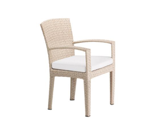 Panama Ecru Armchair by DEDON | Garden chairs