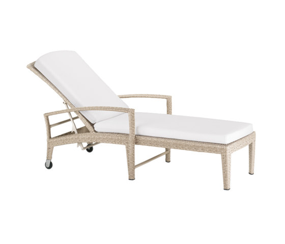 Panama Ecru Beach chair by DEDON | Sun loungers