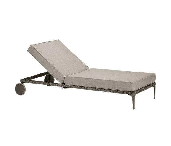 Rayn Chaise longue de DEDON | Méridiennes de jardin