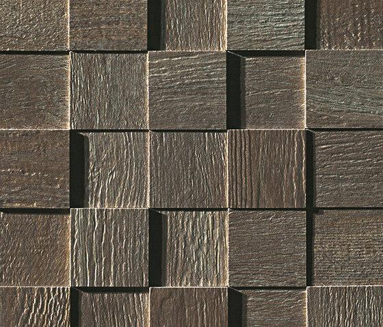 Docks 3D Cenere Mosaico by Fap Ceramiche | Ceramic mosaics
