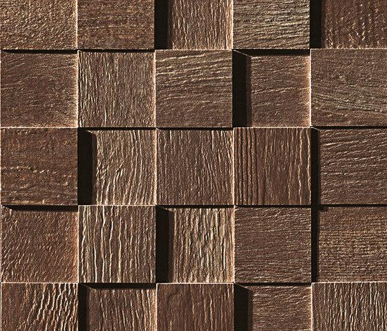 Docks 3D Tabacco Mosaico by Fap Ceramiche | Ceramic mosaics