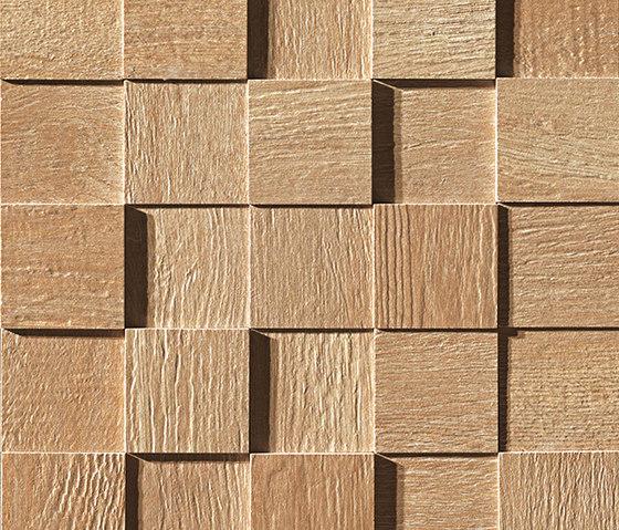 Docks 3D Miele Mosaico by Fap Ceramiche | Ceramic mosaics