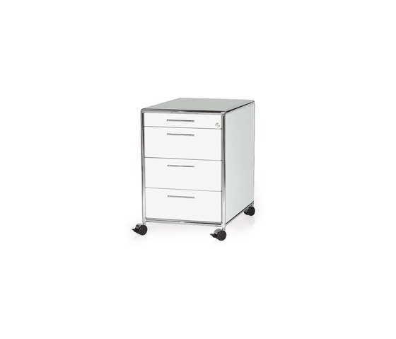Bosse Mobile Storage Unit 1-3-3-3 by Bosse | Pedestals