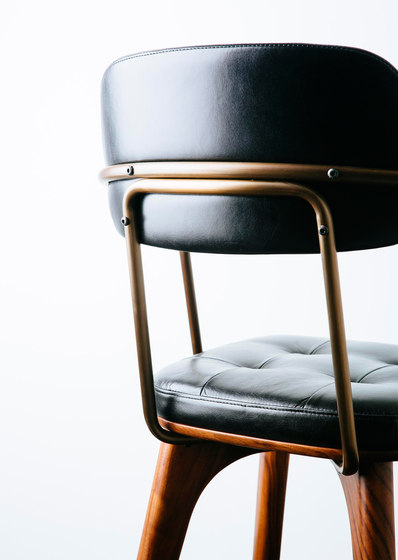 Utility Armchair U by Stellar Works | Restaurant chairs