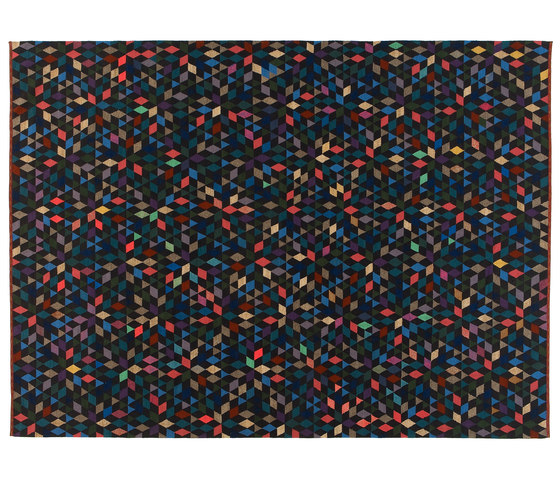 Triangles Diamond black by GOLRAN 1898 | Rugs / Designer rugs