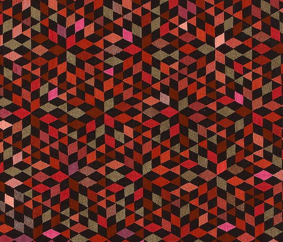 Triangles Diamond strawberry by GOLRAN 1898 | Rugs / Designer rugs