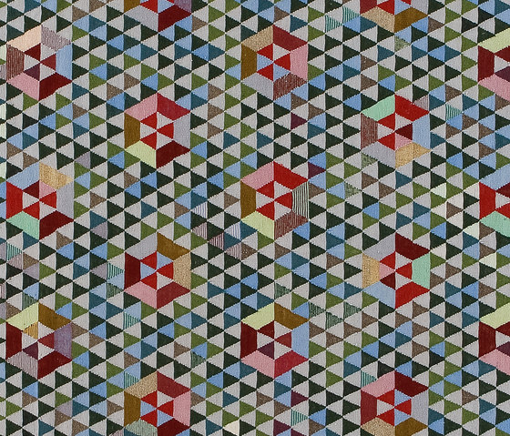 Triangles Trianglehex sweet green by GOLRAN 1898 | Rugs / Designer rugs