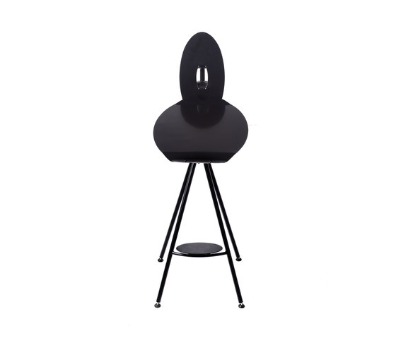 Miró High Stool with backrest by Stellar Works | Bar stools