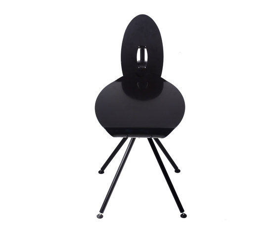 Miró Medium Stool with backrest by Stellar Works   Chairs