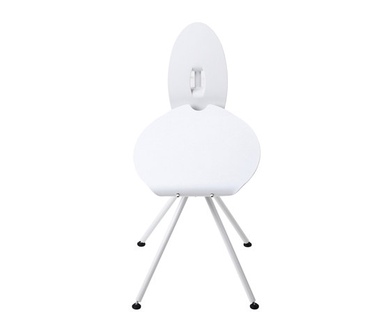 Miró Medium Stool with backrest by Stellar Works | Chairs