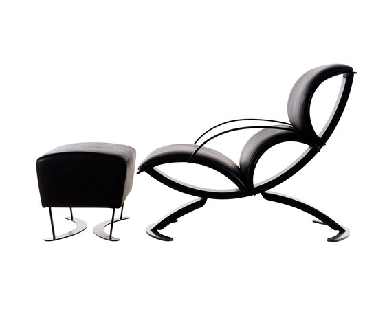 Signorina Chan Chair with Puff by Stellar Works | Lounge chairs