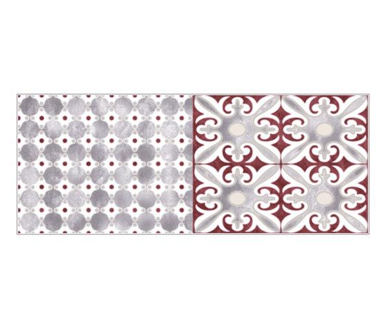 Havana Folk Amaranto Inserto B by Fap Ceramiche | Ceramic tiles
