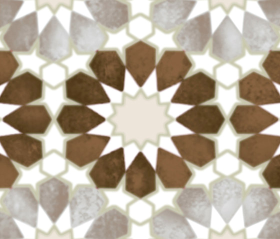 Havana Folk Cacao Inserto A by Fap Ceramiche   Tiles