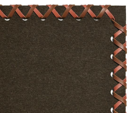 Cross Feltro basic 126/737 by Ruckstuhl | Rugs / Designer rugs