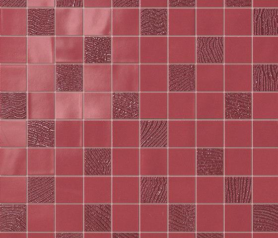 Havana Amaranto Mosaico by Fap Ceramiche   Ceramic mosaics