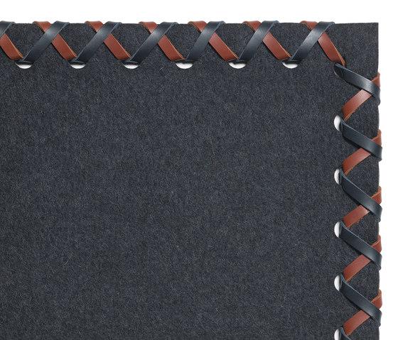 Cross Feltro 214/70036 von Ruckstuhl | Formatteppiche