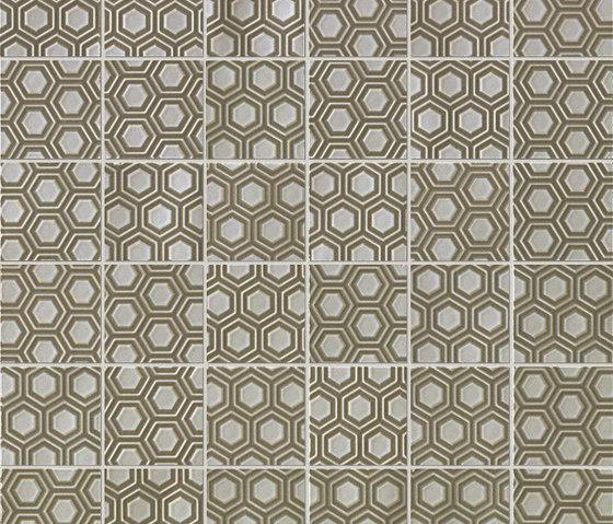 Havana Esagoni Scuri Mosaico by Fap Ceramiche | Ceramic mosaics