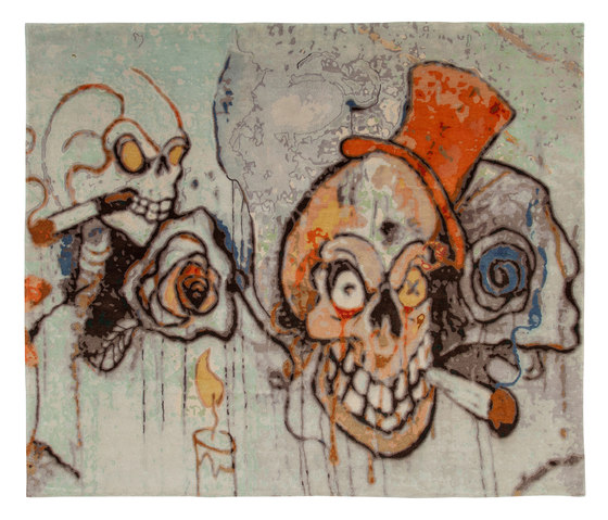 Unknown Artists | Clowns 1 by Jan Kath | Rugs