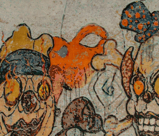 Unknown Artists | Clowns 2 by Jan Kath | Rugs