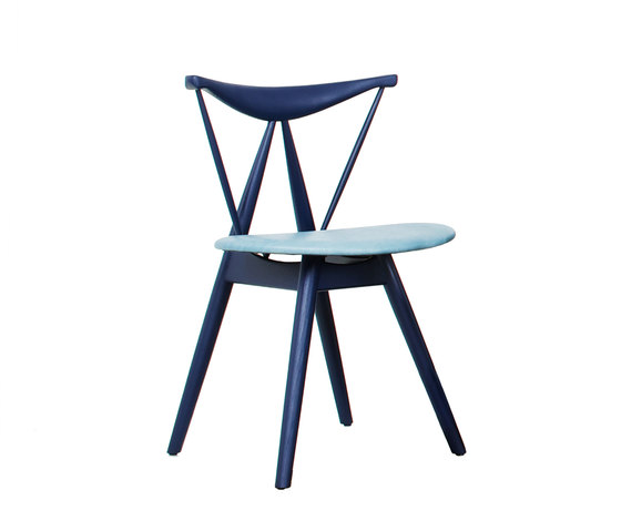 Piano Chair Indigo de Stellar Works | Chaises de restaurant