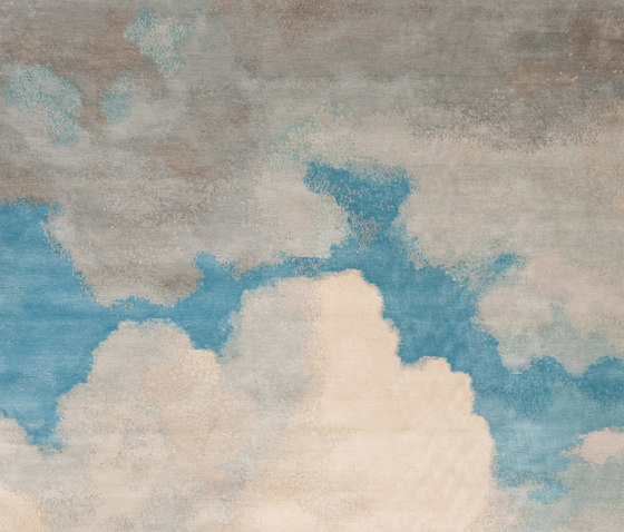 Heiter bis bewölkt | Cloud 1 by Jan Kath | Rugs / Designer rugs