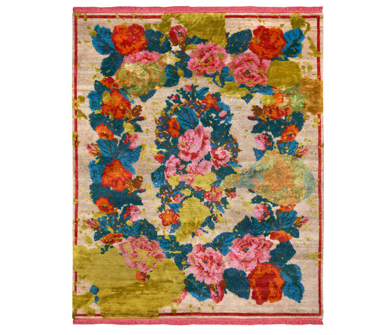 From Russia with love | Janka Splashed von Jan Kath | Rugs