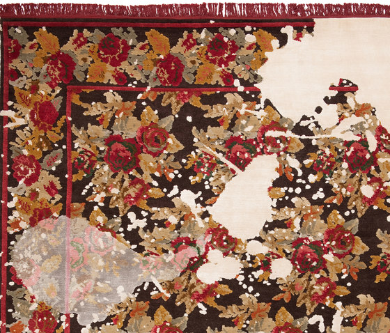 From Russia with love | Karabagh Splashed by Jan Kath | Rugs / Designer rugs