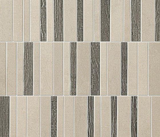 Meltin Tratto Cemento Mosaico by Fap Ceramiche | Ceramic mosaics
