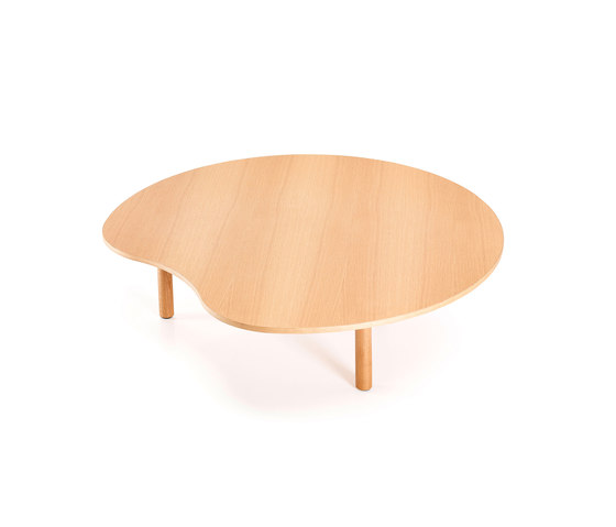 Low Organic Table by Neutra by VS | Lounge tables