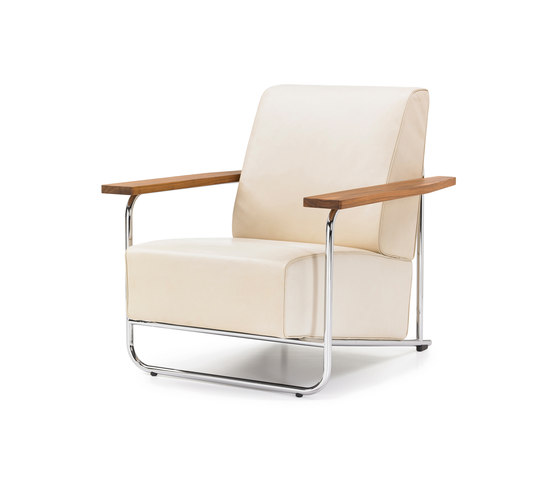 Lovell Easy Chair Steel by VS   Lounge chairs