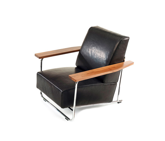 Lovell Easy Chair Steel by Neutra by VS | Lounge chairs