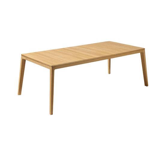 mylon table by TEAM 7 | Restaurant tables