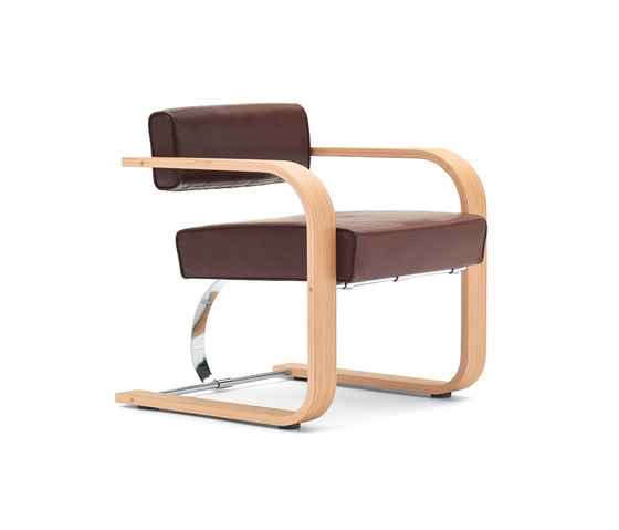 Cantilever Chair Wood de VS | Sillas de visita