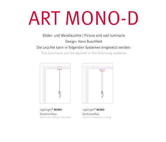 ART MONO-D di Buschfeld Design | Illuminazione generale
