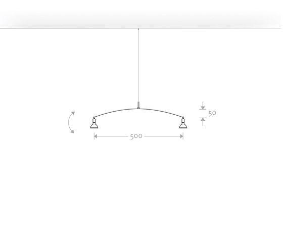BALANCE 50 von Buschfeld Design | Pendelleuchten