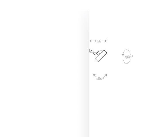 MAX-W von Buschfeld Design | Wandleuchten