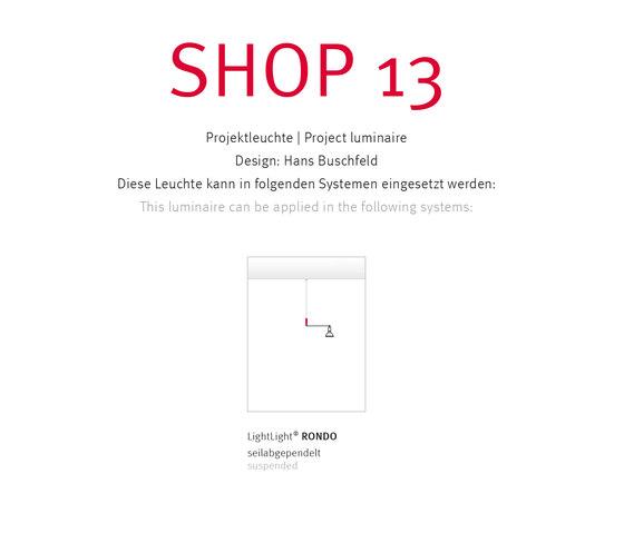 SHOP 13 von Buschfeld Design | Pendelleuchten