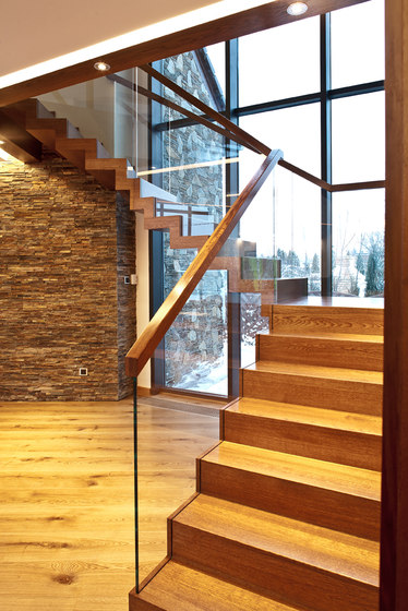 ZigZag Glass by Siller Treppen | Staircase systems