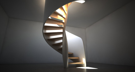 Tornado by Siller Treppen | Staircase systems