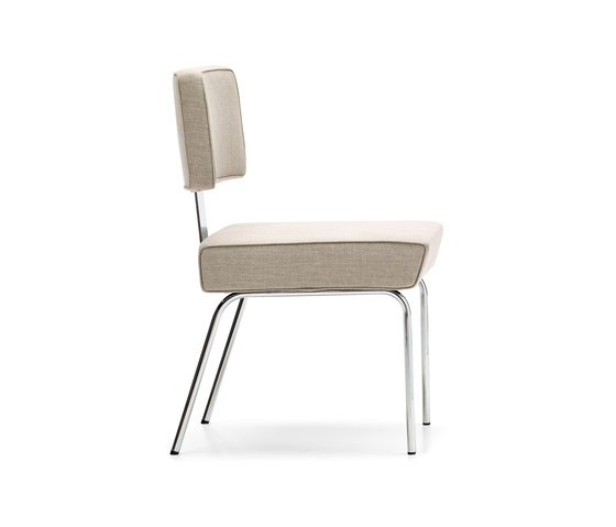 Tremaine Side Chair Steel by VS | Visitors chairs / Side chairs